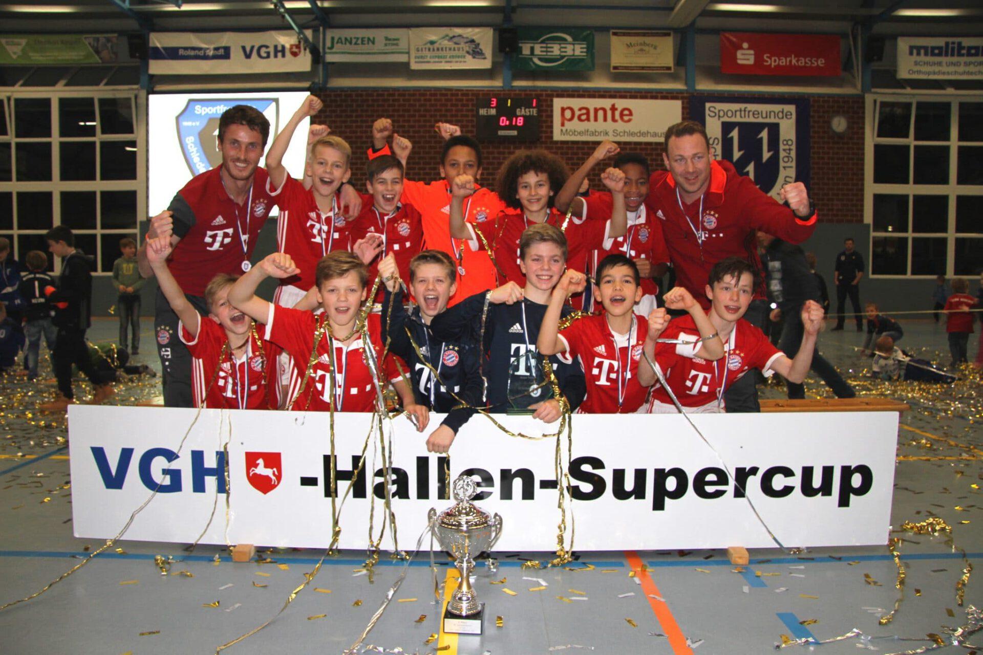 VGH-Cup Sieger 2017 - FC Bayern München